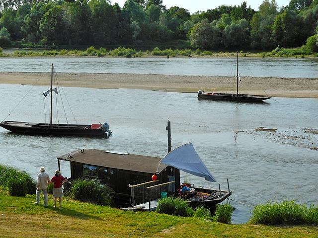 Barques sur la Loire