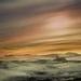 dune crossing at dusk