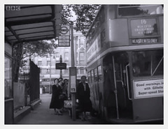 Marble Arch bus stop 1955