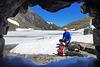 Frozen Lake 'Hundstalsee'