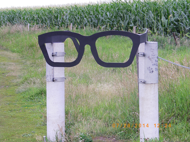 Buddy Holly crash site entrance