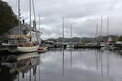 Crinan Canal, sea lock