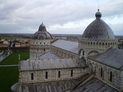 Pisa Cathedral and Baptistery.
