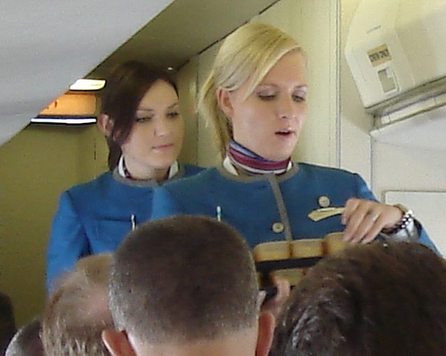KLM magical moment