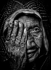Old woman of Pushkar Rajasthan