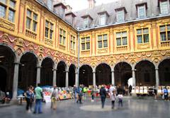 Lille - Cloisters of La Vieille Bourse.