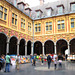 Lille - Cloisters of La Vieille Bourse.