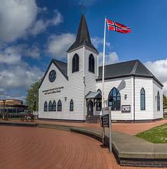 Norwegian Church Arts Centre [or Mcdonald's Restaurant]?
