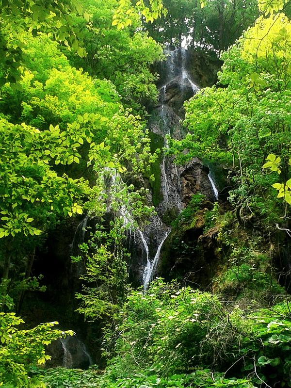 Waterfalls Vilenska vrela