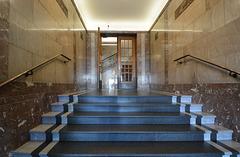 Eingangshalle im Kontorhaus Wallhof