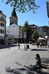 Kassel, and a fake beggar