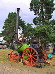Mobile Dampfmaschine