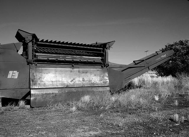 A crushing machine