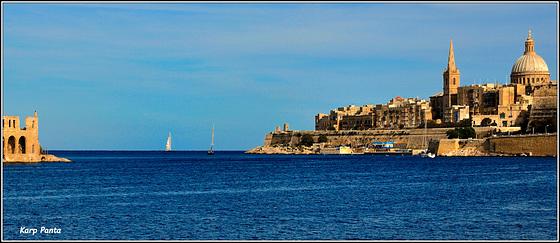 """Marsamxett Harbour"" - Valetta - MALTA"