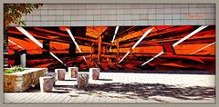 Sur le mur .........2...Art Urbain