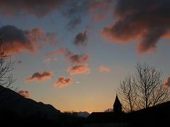1 (23)...austria loweraustria reichenau a. d. rax..sundown, clouds