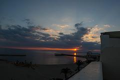 20150524 8177VRFw [F] Sonnenuntergang, Le Grau du Roi, Camargue