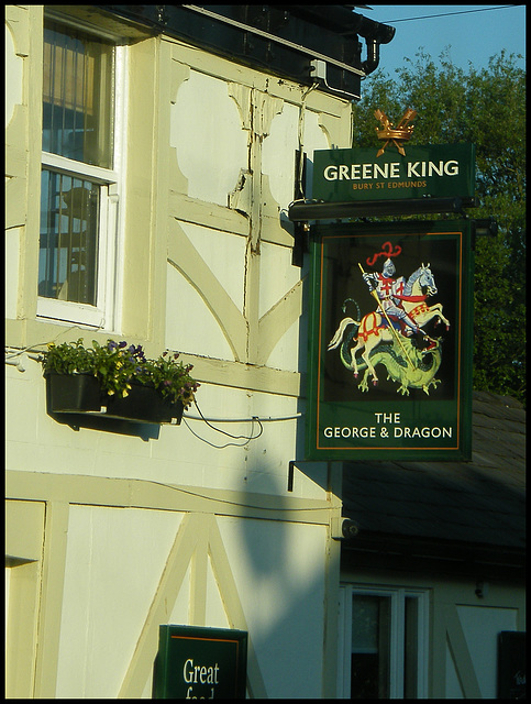 George & Dragon at Leigh