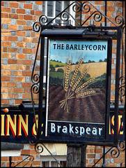 Barleycorn pub sign