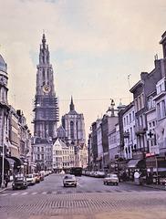 Anvers / Antwerpen (B) 22 avril 1978. (Diapositive numérisée).
