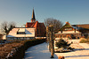 Wustrow (Fischland), Blick zur Kirche