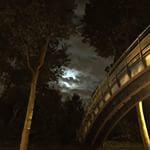 pont de Paris la nuit
