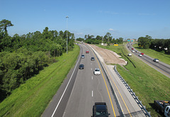 Unusually good view of a freeway in central Florida.