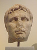 Portrait Head of Augustus from the Roman Agora in Athens in the National Archaeological Museum of Athens, May 2014