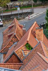 Beschwipste Dächer