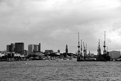 Looking at Hamburg