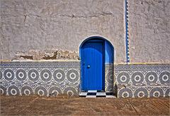 Door of a Marabout Sidi Ifni