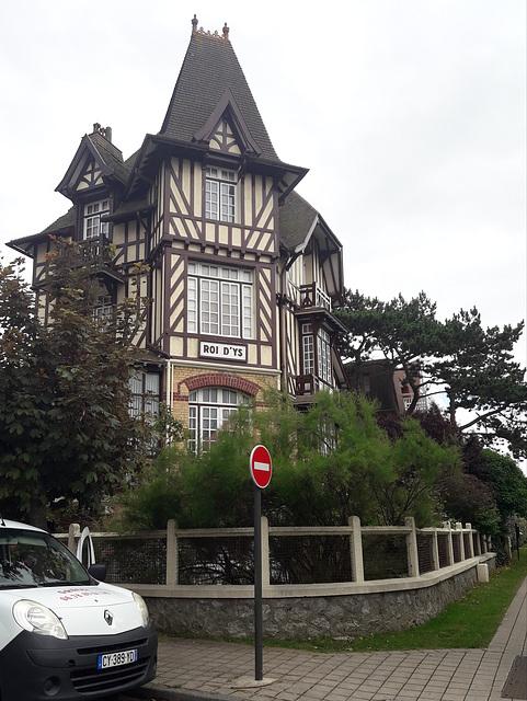 Maisons remarquables au Touquet. Roi D Ys 1903
