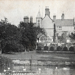 Aldercar Hall, Derbyshire (Long Demolished), Garden Front