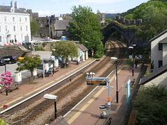 Conwy Railway Station.