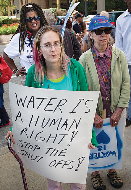 Fighting to save water and Earth from corporate destruction - Peoples Tribune 2017.11