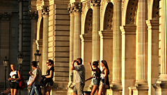 Golden  Days ~ Le Louvre ~ Paris ~ MjYj