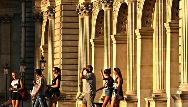 Golden  Days ~ Le Louvre ~ Paris ~ MjYj