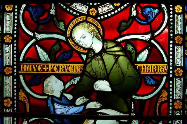Stained Glass, Chancel, St Margaret's Church, Ward End, Birmingham