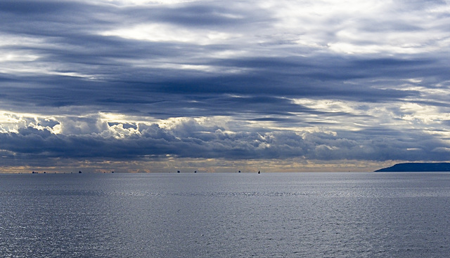 View from Bracklesham Bay Beach