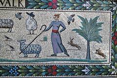 shepherdess walk mosaics, london