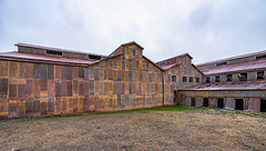 colorful corrugated iron