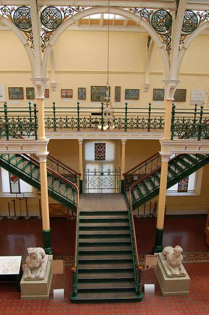Staircase, Birmingham Museum and Art Gallery, Birmingham