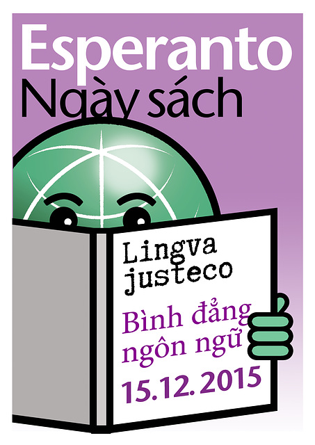 Esperanto Book Day 2015 - vietnamese; Esperanto Librotago 2015 - vietnama
