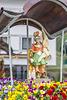 Brunnenfigur in St. Anton