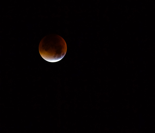 Lune rouge - Red moon
