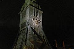 Le clocher de l'église Sainte-Catherine