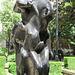 master of the horse, sculpture, whittinton gardens, london