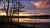 Es wird Abend am Bannwaldsee