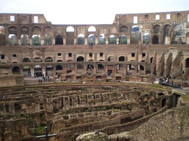 Colosseum - inside view.