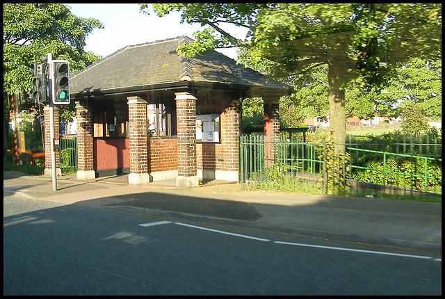 park shelter on Manchester Rd